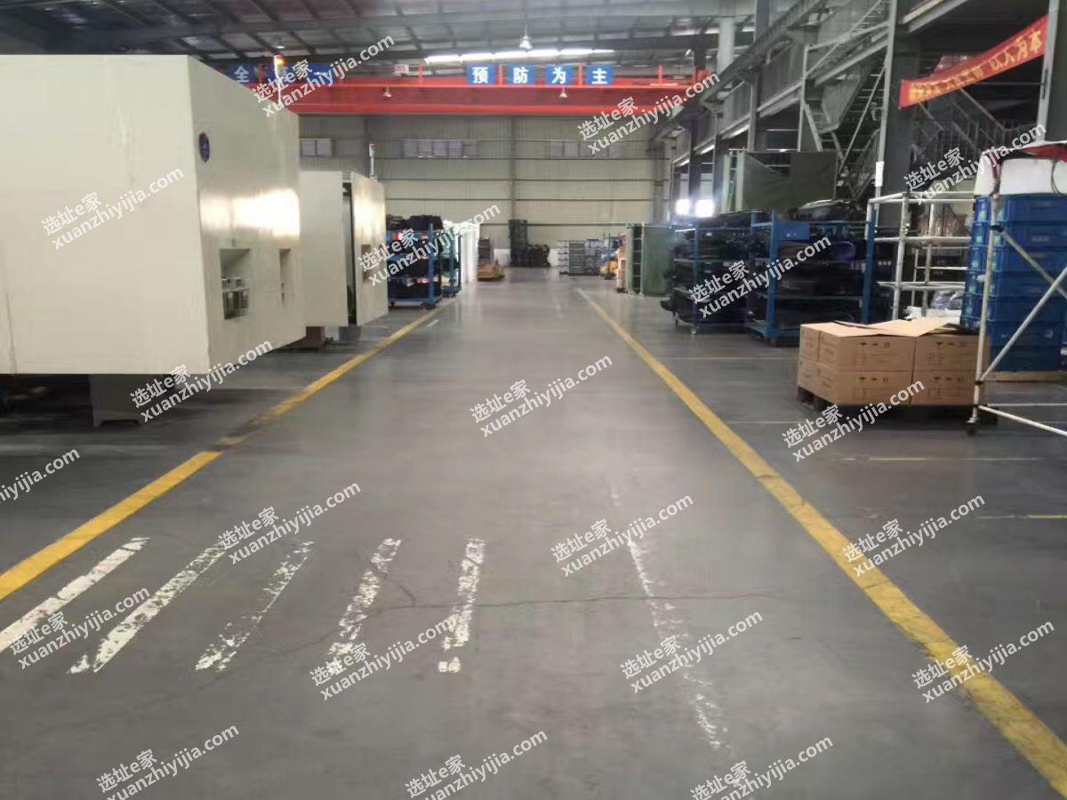 武汉常福23500平钢构厂房出售(出租)