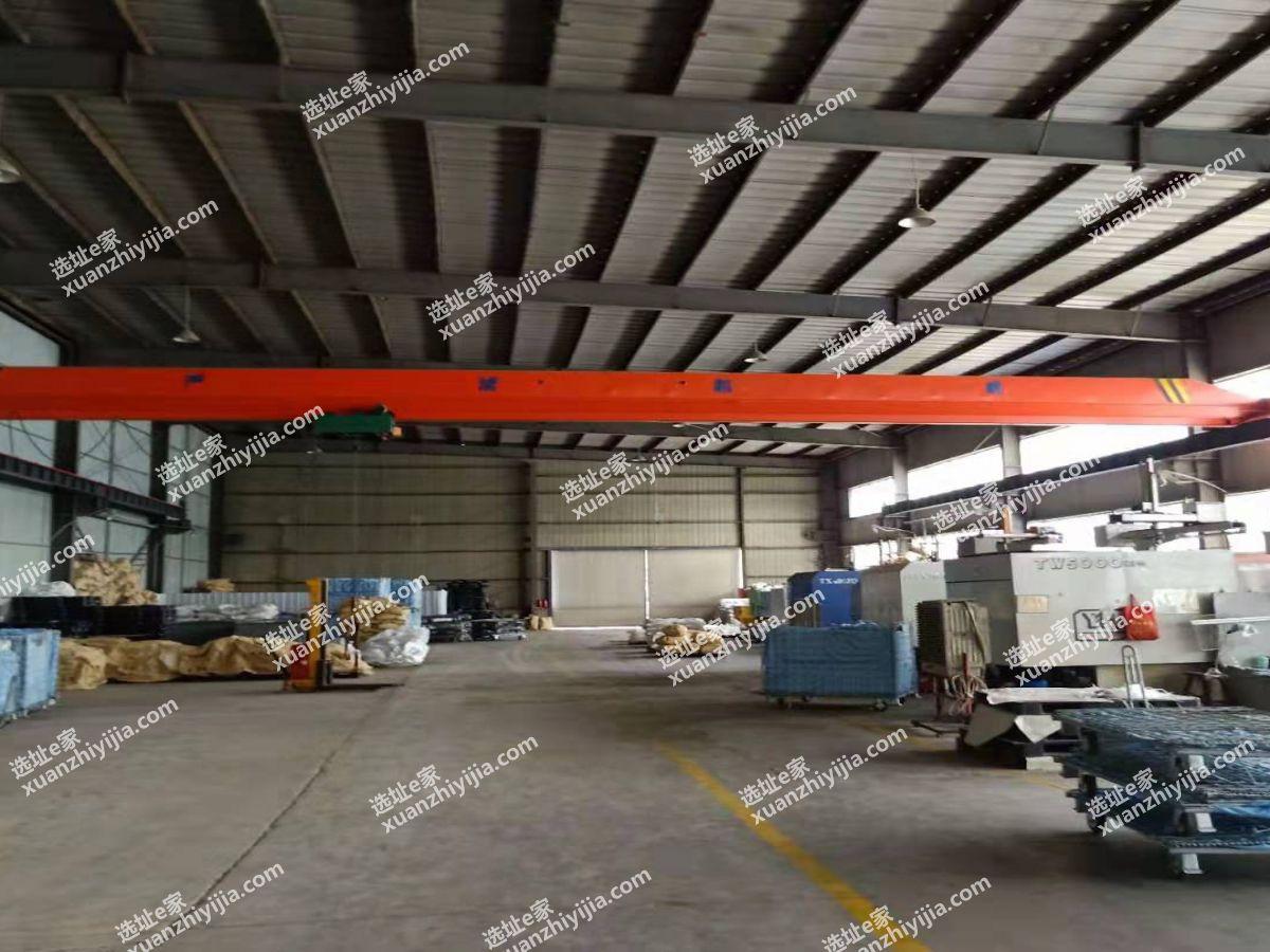 蔡甸常福工业园钢构1700㎡厂房出租,带5吨行车