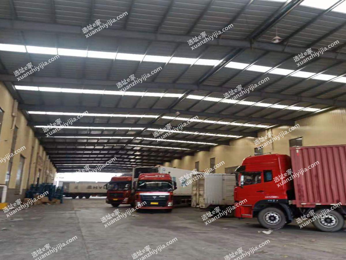 【仓库&厂房】常福2万方高台库钢构厂房出租可分租有行车轨道可生产
