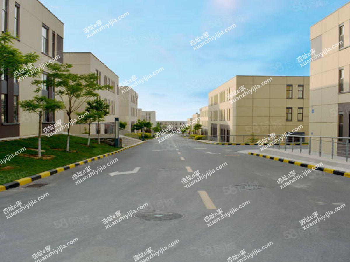 蔡甸全新框架独栋厂房出售2200㎡,首层层高8.1米