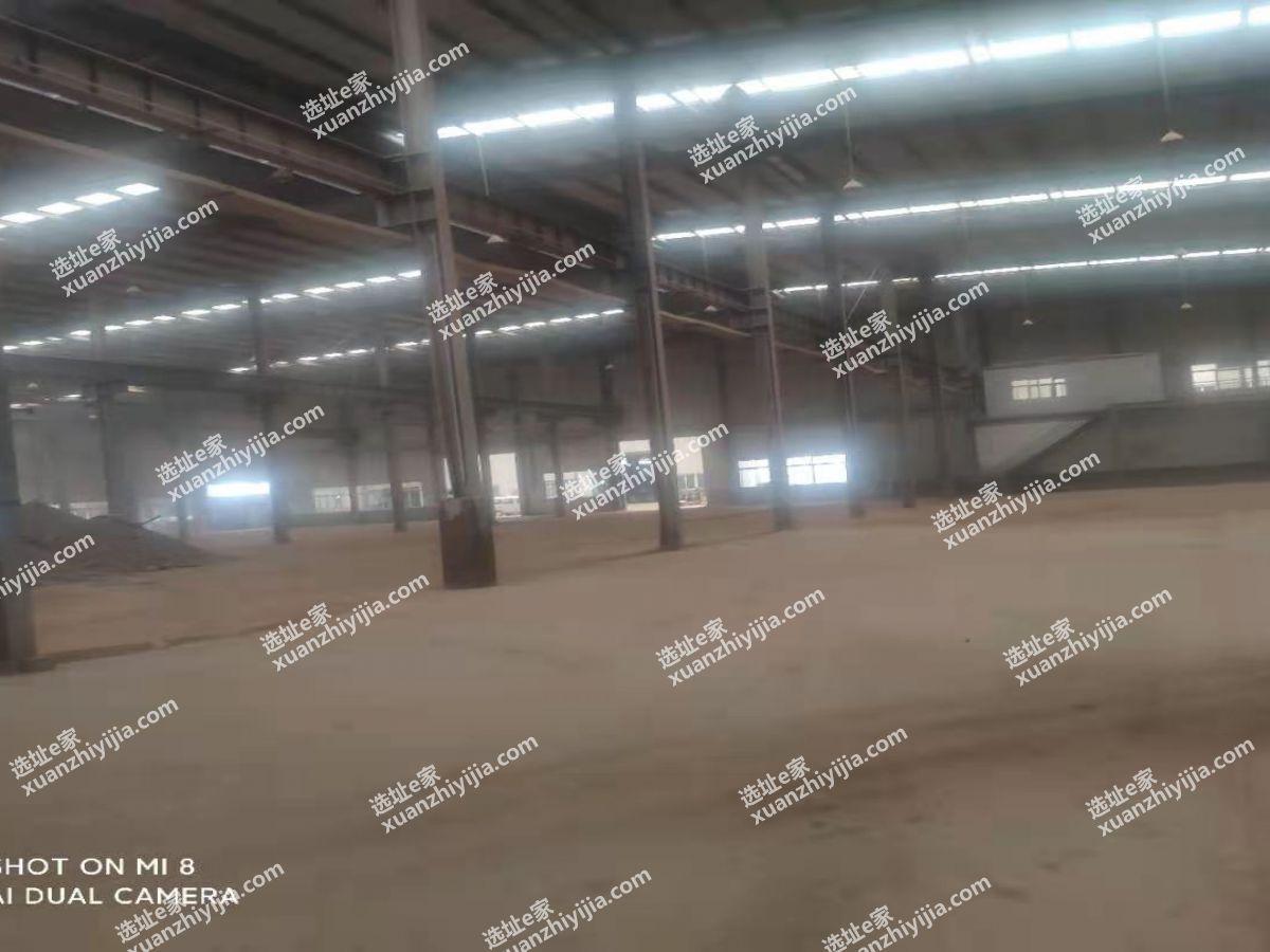 蔡甸常福工业园10000平米单层钢构带行吊出租